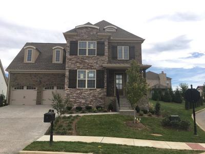 Gallatin Single Family Home For Sale: 1002 Laffite Way Lot 46