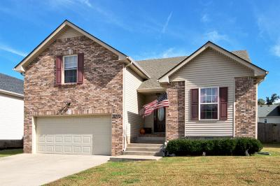 Clarksville TN Single Family Home For Sale: $174,500