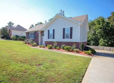 Clarksville Single Family Home For Sale: 2268 Pachuta Trl
