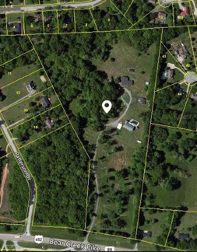 Columbia Residential Lots & Land For Sale: 403 Bear Creek Pike