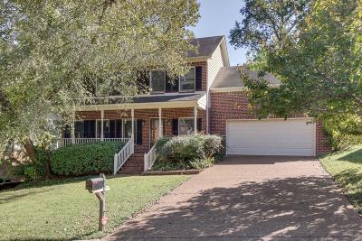 Nashville Single Family Home For Sale: 8432 Indian Hills Dr