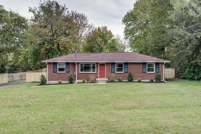 Nashville Single Family Home For Sale: 620 Marswen Drive