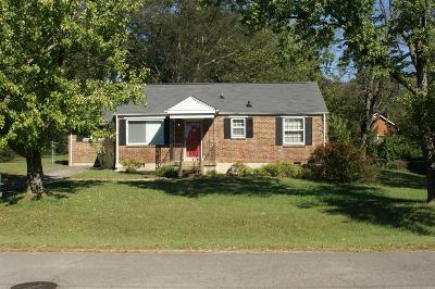 Nashville Single Family Home For Sale: 348 Tamworth Dr