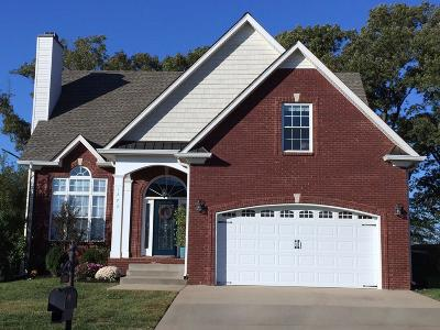 Clarksville Single Family Home For Sale: 1273 Judge Tyler Dr