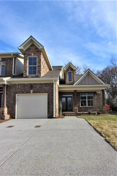 Old Hickory Condo/Townhouse For Sale: 4 Southfork Blvd #4