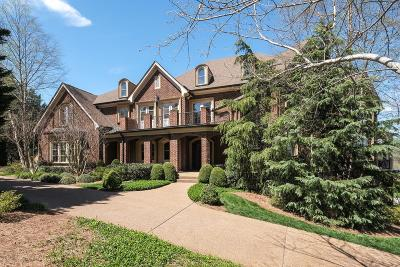 Brentwood TN Single Family Home For Sale: $1,987,500