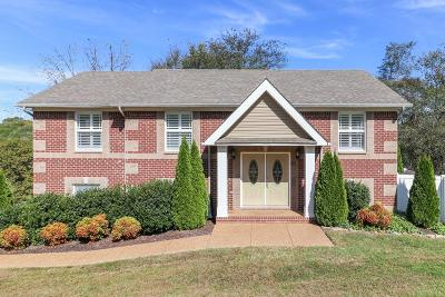 Spring Hill  Single Family Home Under Contract - Showing: 1536 Heller Rdg
