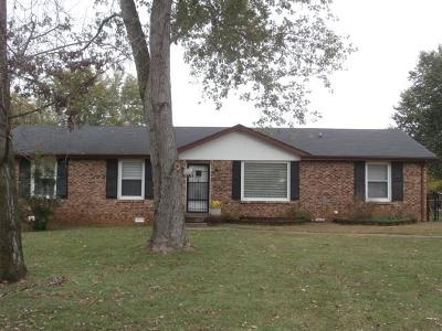 Clarksville Single Family Home For Sale: 214 Maplewood Dr