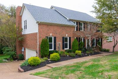 Old Hickory Single Family Home For Sale: 812 Overhills Drive