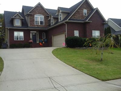 Clarksville Single Family Home Under Contract - Showing: 837 E Accipiter Cir