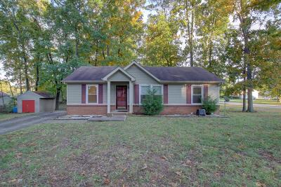 Clarksville Single Family Home Under Contract - Showing: 502 Pointer Ln