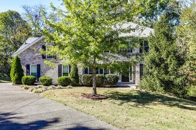Nolensville Single Family Home Under Contract - Showing: 515 Cloverwood Ct