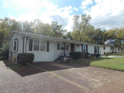Mount Juliet Single Family Home For Sale: 105 Hillview Dr