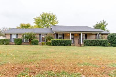 Mount Juliet Single Family Home For Sale: 206 Maple Way