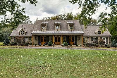 Franklin Single Family Home For Sale: 110 Steeplechase Ln