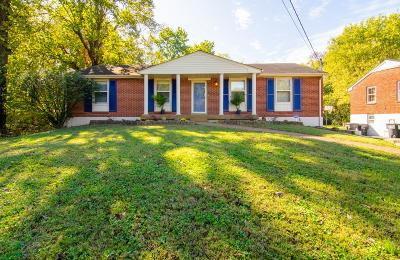 Nashville TN Single Family Home Under Contract - Showing: $320,000