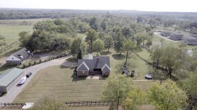 Murfreesboro Single Family Home Under Contract - Showing: 4290 Central Valley Rd