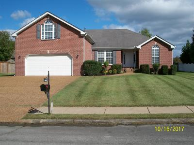 Smyrna Single Family Home Under Contract - Showing: 9006 Merlot Dr