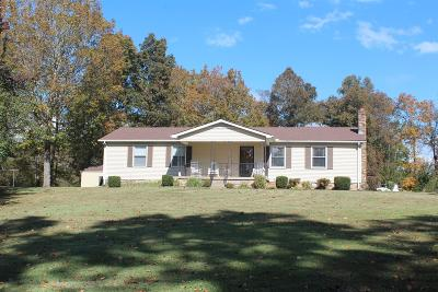 Shelbyville Single Family Home For Sale: 297 Cartwright Rd