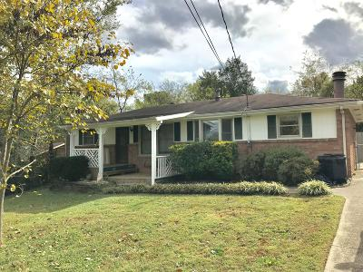 Hendersonville Single Family Home For Sale: 119 Curtiswood Dr