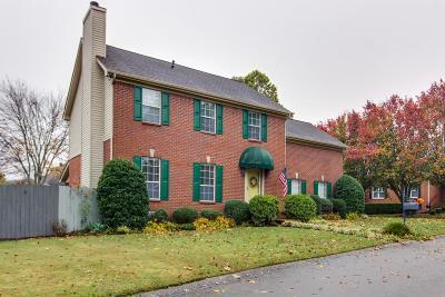 Franklin Single Family Home For Sale: 1724 Edinboro Way
