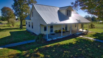 Single Family Home For Sale: 4892 Short Mountain Rd