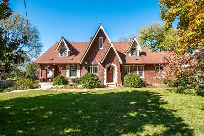 Nashville Single Family Home For Sale: 305 Bowling Ave