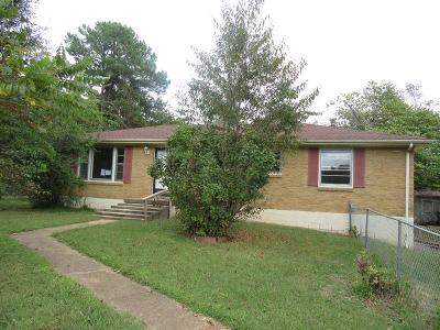 Clarksville Single Family Home Under Contract - Showing: 506 Wren Dr