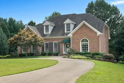 Clarksville Single Family Home For Sale: 2214 Foxfire Rd