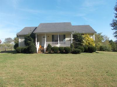 Ashland City TN Single Family Home Sold: $167,500