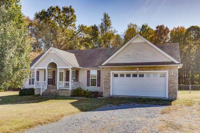 Shelbyville Single Family Home Under Contract - Showing: 835 Smith Chapel Dr