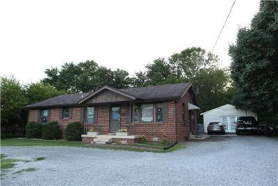 Smyrna, Lascassas Single Family Home Under Contract - Not Showing: 5154 Almaville Rd