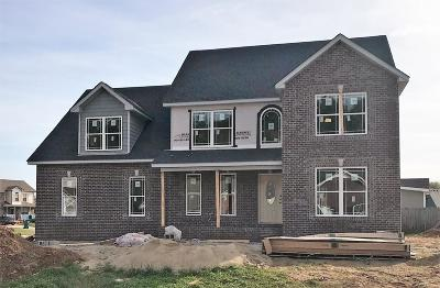 Clarksville Single Family Home Under Contract - Showing: 3550 Neena