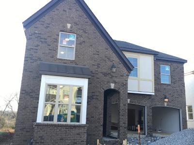 Hendersonville Single Family Home For Sale: 635 Lingering Way - Lot #338