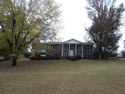 Ashland City TN Single Family Home Sold: $225,000