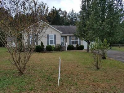 Shelbyville Single Family Home Under Contract - Showing: 124 Lorien Cir