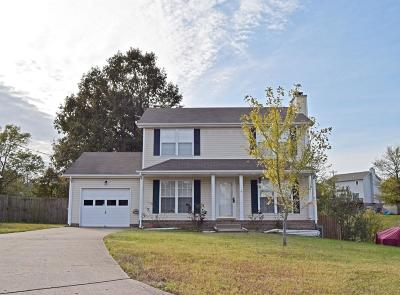 Clarksville Single Family Home Under Contract - Showing: 331 Yankee Dr