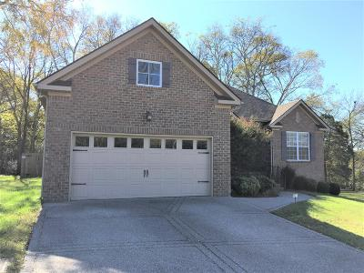 Mount Juliet Single Family Home Under Contract - Showing: 2608 Lakeside Meadows Dr