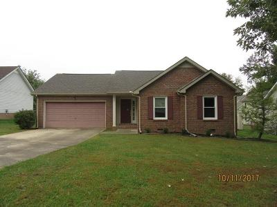 Christian County, Ky, Todd County, Ky, Montgomery County Single Family Home Under Contract - Showing: 210 Kathleen Ct