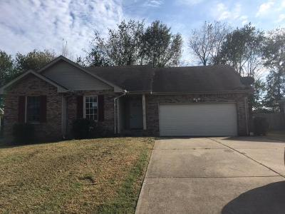 Christian County, Ky, Todd County, Ky, Montgomery County Single Family Home For Sale: 3224 S Senseney Cir