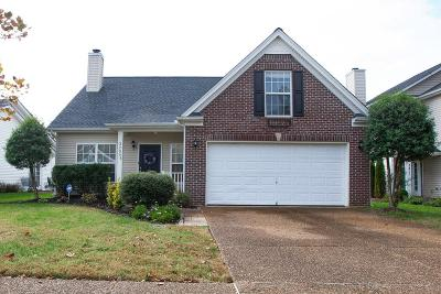 Franklin Single Family Home For Sale: 3209 Gardendale Dr
