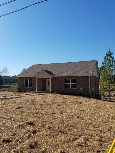 Ashland City Single Family Home Under Contract - Showing: 3110 Caldwell Rd
