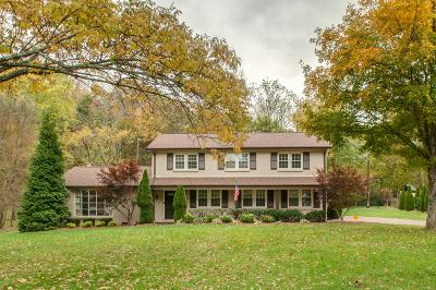 Nashville Single Family Home Under Contract - Showing: 817 Forest Hills Dr