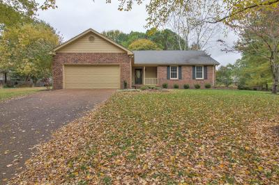 Franklin Single Family Home Under Contract - Showing: 705 Branch Ct