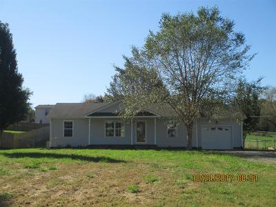 Clarksville Single Family Home Under Contract - Showing: 996 Hot Shot Dr