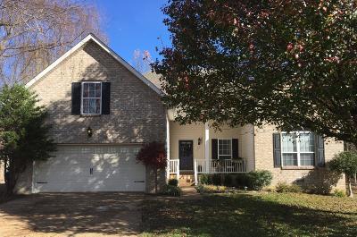 White House Single Family Home For Sale: 102 Ashwood Ct