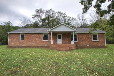 Ashland City Single Family Home Under Contract - Showing: 5503 Old Hickory Blvd