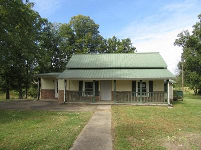 Christian County, Ky, Todd County, Ky, Montgomery County Single Family Home For Sale: 5368 Louise Rd
