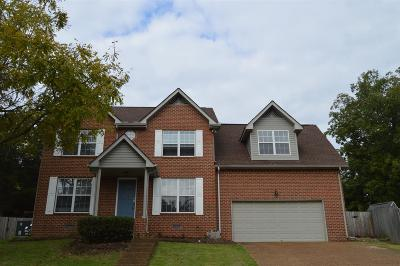 Hendersonville Single Family Home Under Contract - Showing: 106 Bentree Ct