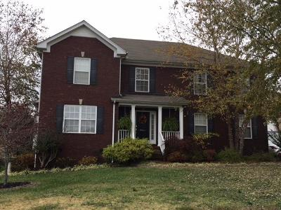 Mount Juliet Single Family Home Under Contract - Showing: 1305 Oakhall Ln